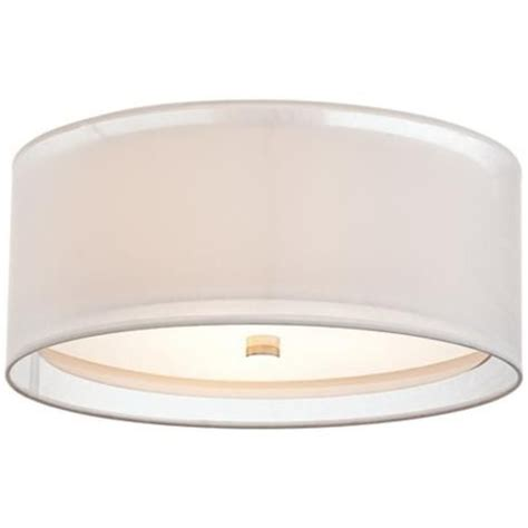 white drum ceiling light possini design drum 18 quot wide white ceiling