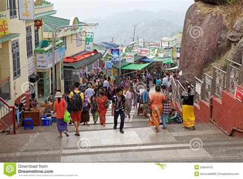 along with the gods golden village myanmar editorial stock photo image 53944413