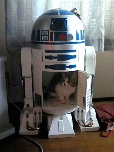 Wars R2 D2 Starring In The Cutest Mailbox by Wars Cats