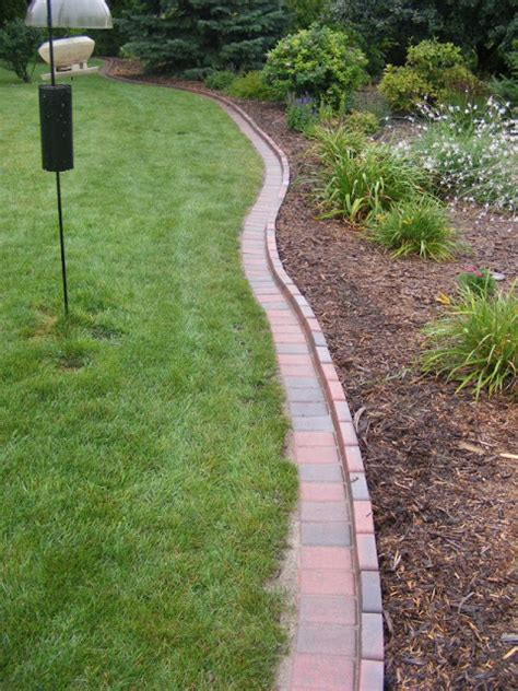 Brick Border Garden Edging Ideas Brick Driveway Image Brick Edging