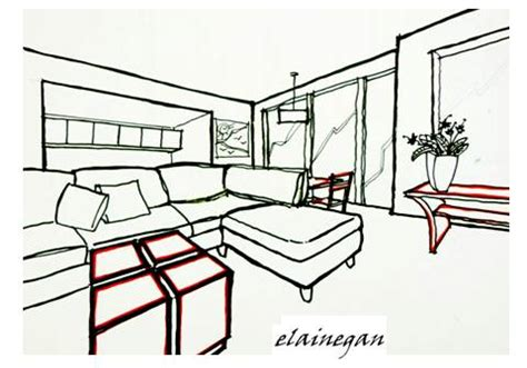 living room layout sketches 3d sketches the living room 1 scribblelicious