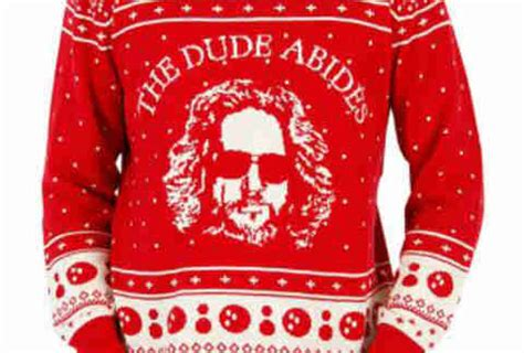 christmas jumper the bog lebowski uk best sweaters beyonc 233 things more thrillist