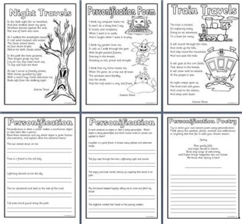 printable personification poster all worksheets 187 similes and metaphors ks2 worksheets