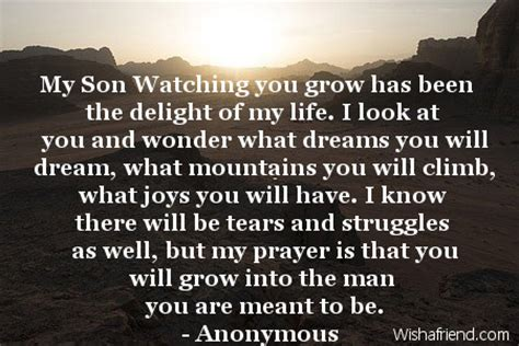 Inspirational Quotes For Sons Birthday From Birthday Quotes For Son