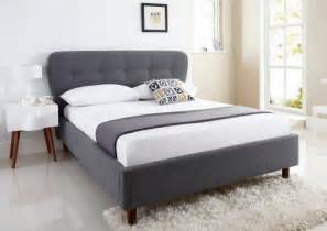 King Size Bed To Buy Uk Oslo Upholstered Bed Frame King Size Beds Bed Sizes