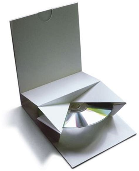 Fold Paper Cd - origami folded cd packaging