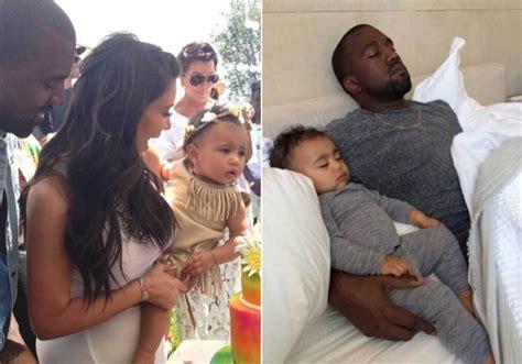 kim kardashian chicago west edad famosos que presumen de hijos en las redes sociales