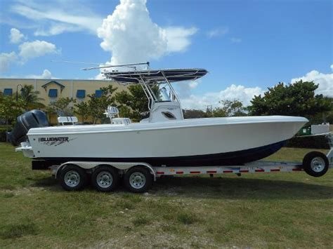 bluewater boats tequesta bluewater 2550 boats for sale boats