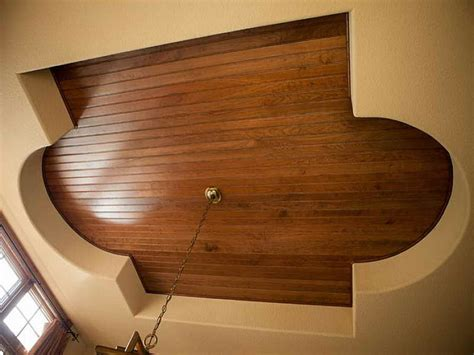 How To Install Wood Planks On A Ceiling