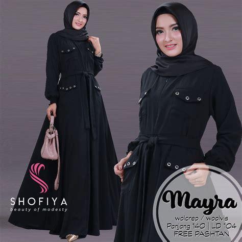 Syari Dress Kalila 0822 8278 3341 grosir baju gamis muslim syariahstore