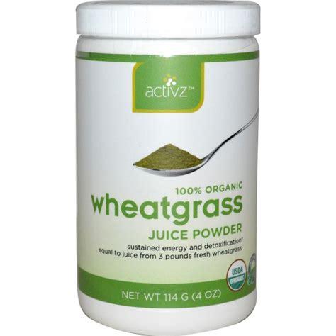 Wheatgrass Powder Detox by Activz Organic Wheatgrass Juice Powder 4 Oz 114 G Na