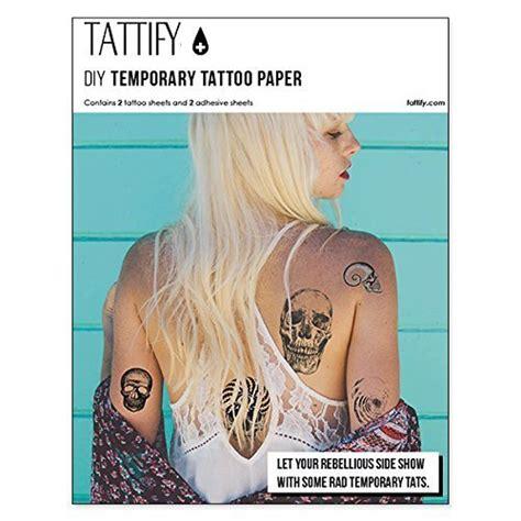 custom tattoo printer tattify diy temporary tattoo paper 2 pack for inkjet
