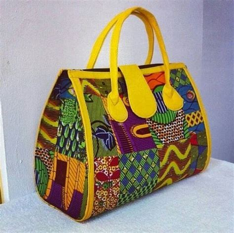 Handmade Bag Designs - fabric handmade bag ankara design by