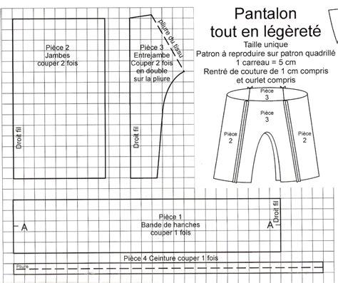 Modã Le Plan D ã Galitã Homme Femme Patron Couture Pantalon 7