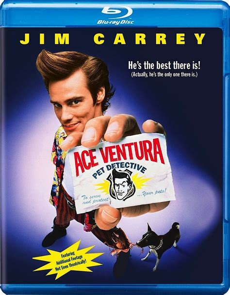 film detective blu ray ace ventura pet detective when nature calls blu rays