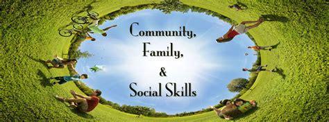 teaching community family  social skills  elements