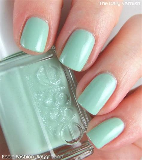 Mint Green Nail Polishes by Best 25 Mint Green Nail Ideas On