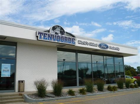 Tenvorde Ford of St. Cloud MN   The oldest Ford dealership