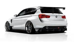 bmw 1 series rendered as proper racing car by adf