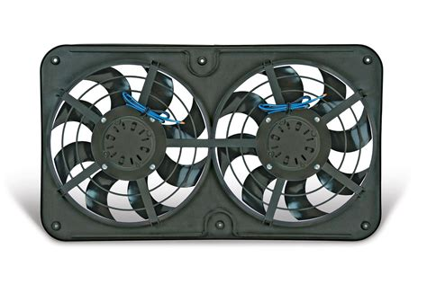 dual electric fan controller flex a lite automotive reversible dual 12 1 8 inch x treme