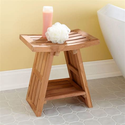 bath stool signature hardware