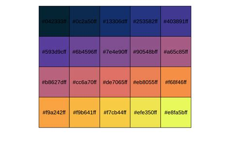 node colors color palettes using colormaps node module color