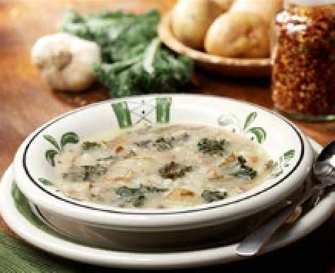 Olive Gardens Soups by Olive Garden Zuppa Toscana Soup Recipe