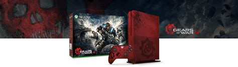 Xbox One S Gears Of War Edition xbox one s gears of war 4 limited edition bundle 2tb xbox