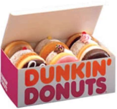 Box Of 10 Dunkin Donuts Dunkin Donuts S Box I Was Really Happy When I Saw My