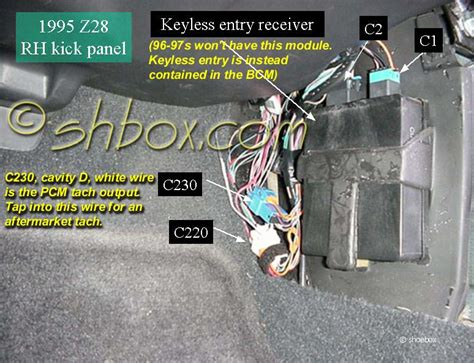 97 camaro fuel relay location get free image about