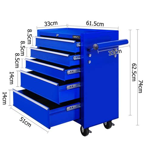 where to buy blue cabinets 5 drawer steel roller toolbox cabinet in blue buy tool