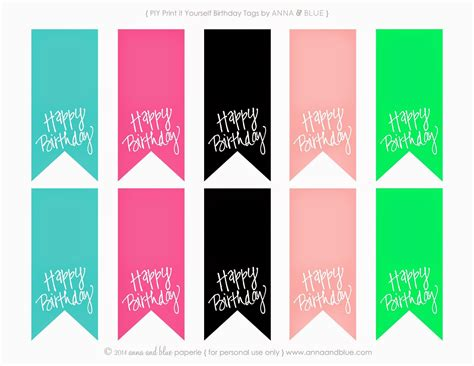 printable gift tags for birthday anna and blue paperie free printable happy birthday gift