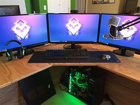 how to make a gaming setup epic 14 year old s gaming setup youtube