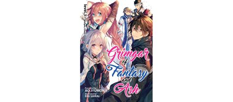 grimgar of and ash light novel vol 4 june 2017 releases 187 yatta tachi