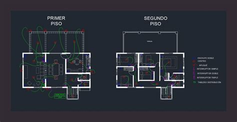 electric project dwg full project  autocad designs cad