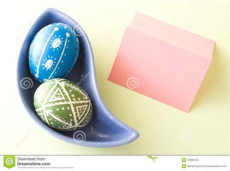 handmade easter eggs stock photography image 13320152