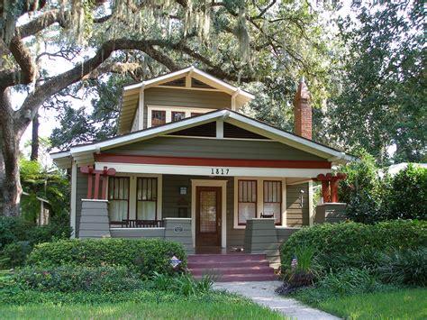 classic craftsman bungalow colors orlando historic districts lake lawsona the craftsman
