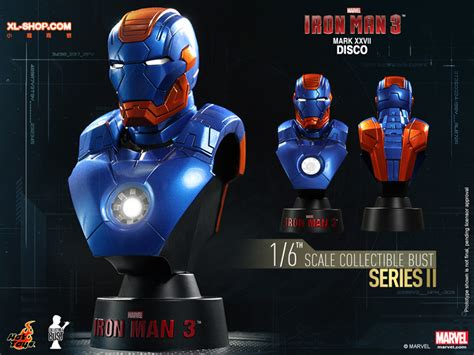 Toys 16 Bust Deluxe Set Series 1 toys htb21 27 iron 3 1 6th scale collectible bust series ii deluxe set