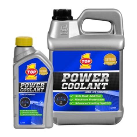Top 1 Power Coolant Air Radiator Coolant Hijau 4 Liter Made In Usa distributor produk pelumas dan spare part terbaik di indonesia