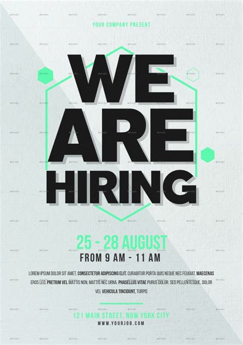 21 Job Fair Flyer Psd Vector Eps Jpg Download Freecreatives Hiring Flyer Template
