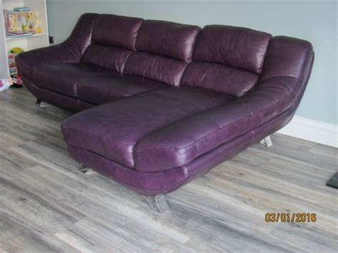 genuine leather sofa with chaise for sale in cork city