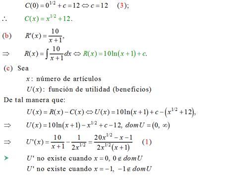 Calculo Del Ingreso Marginal Youtube | calculo integral costo marginal ingreso marginal