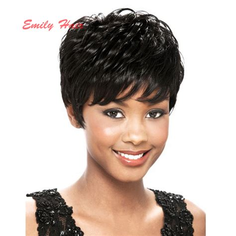 african american short pixie cut wigs 2016fashion short afro short pixie cut style wig with
