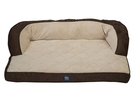 memory foam couch bed couch dog bed with memory foam brown