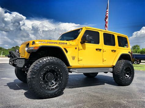 jeep   wrangler unlimited rubicon hellayella litfed leather nav  nittos florida