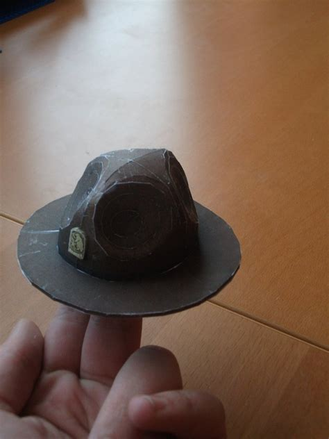 Paper Craft Hats - fallout ranger hat papercraft by thedutchyguy on deviantart