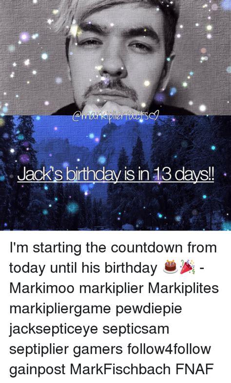 Birthday Countdown Meme - funny markiplite memes of 2017 on sizzle gamerant