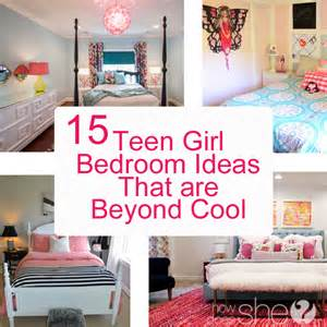 Cute Bedroom Ideas For Teenage Girls teen girl bedroom ideas 15 cool diy room ideas for teenage girls