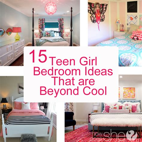 bedrooms ideas for teenage girls teen girl bedroom ideas 15 cool diy room ideas for