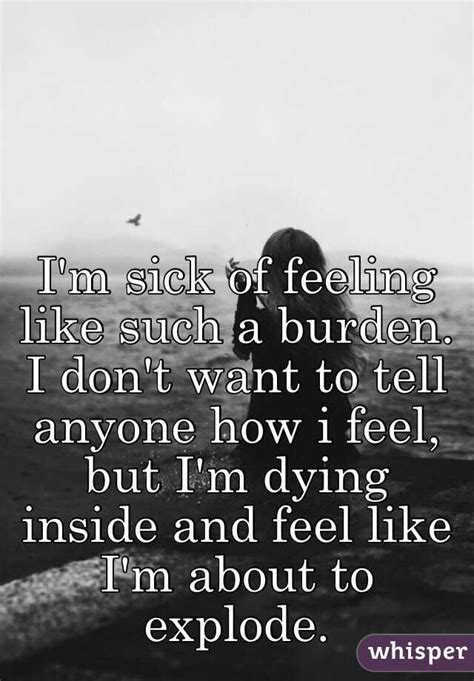 Im Dying 25 best ideas about dying inside on
